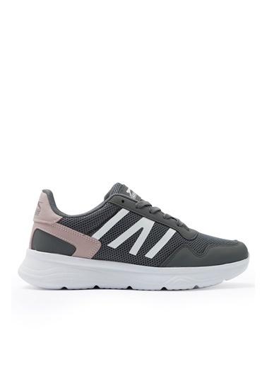 Slazenger Slazenger ICONA I Sneaker Kadın Ayakkabı  Gri